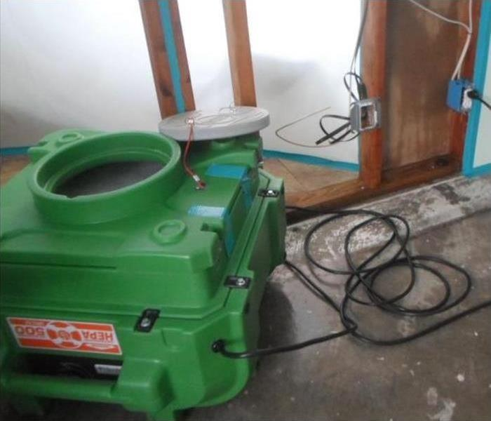 green air scrubber equipment
