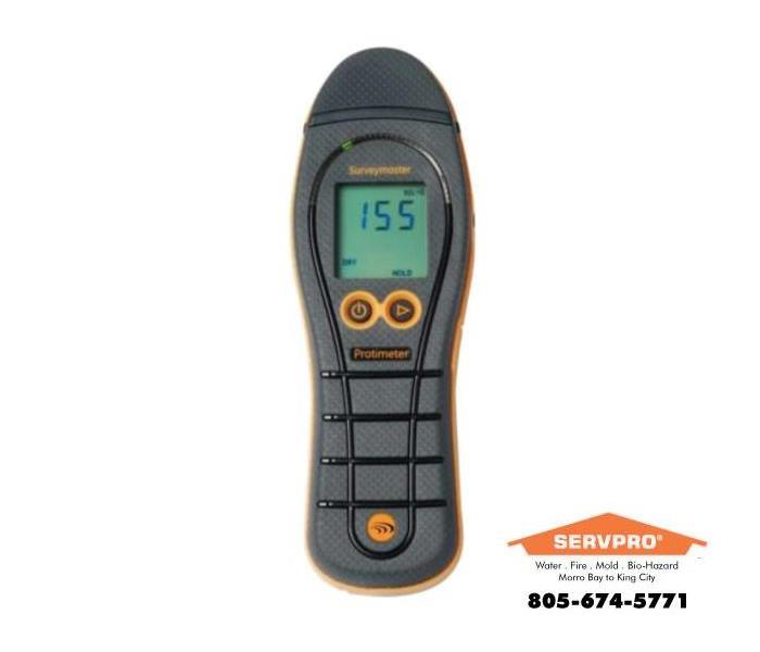 a picture of a moisture meter
